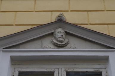 Płaskorzeźba - portret Zygmunta III Wazy, Tallin