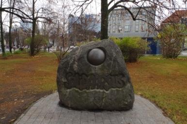 Kamień Solidarności, Tallin