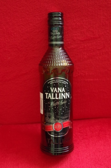 Vana Tallin - estoński likier
