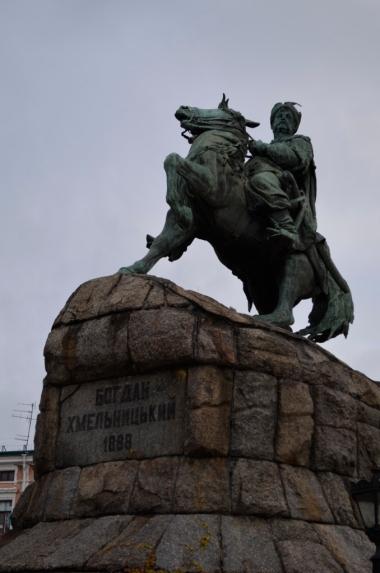 Pomnik Chmielnickiego, Kijów