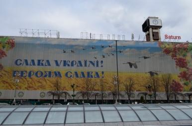 Na Placu Niepodległości w Kijowie