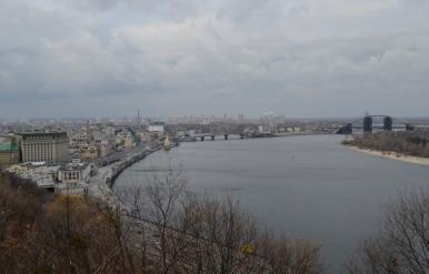 Dniepr, Kijów