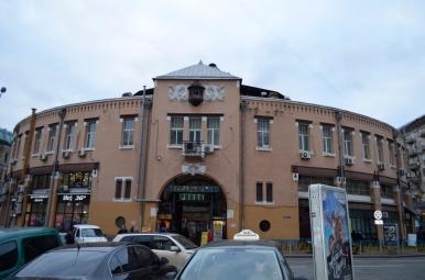 Rynek Besarabski, Kijów