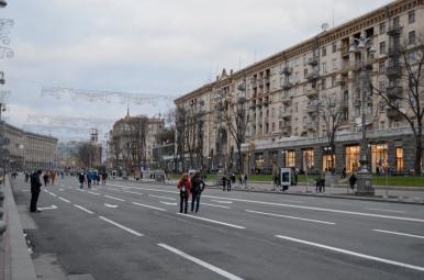 Ulica Chreszczatyk, Kijów