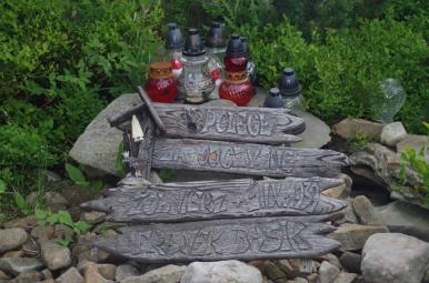 Symboliczny grób żołnierza Franciszka Basika