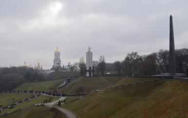 Ławra Pieczerska i Memoriał Wiecznej Chwały, Kijów