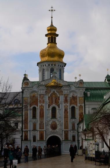 Ławra Pieczerska - cerkiew nadbramna św. Trójcy