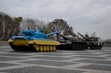 W pobliżu Muzeum Wielkiej Wojny Ojczyźnianej, Kijów