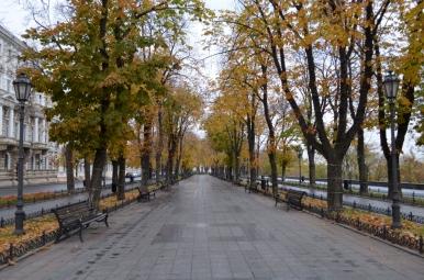 Bulwar Przymorski, Odessa