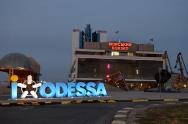 Port w Odessie - terminal pasażerski