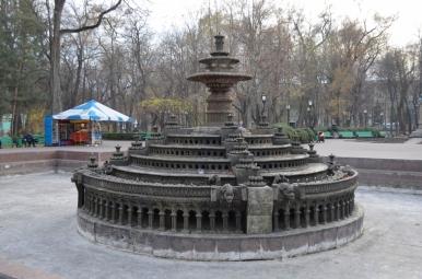 Fontanna w Parku Stefana Wielkiego