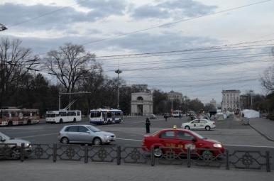 Główna ulica miasta - Bulward św. Stefana Wielkiego (Bulevardul Ștefan cel Mare și Sfânt)