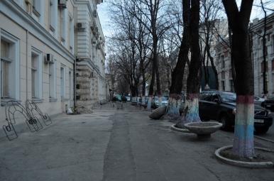 Typowa ulica w Kiszyniowie