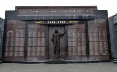 Pomnik poległych w wojnie o Naddniestrze, Tyraspol