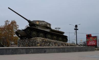 Czołg T-34 w Tyraspolu